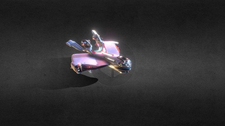 Star Valor: TraderZ : Ryken Frigate 3D Model