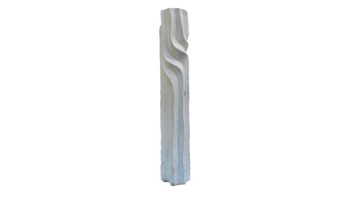 Stylizovaný kmen stromu VI. - hotel ITC 3D Model