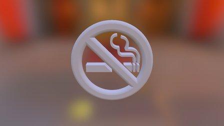 No smoking 3D Model