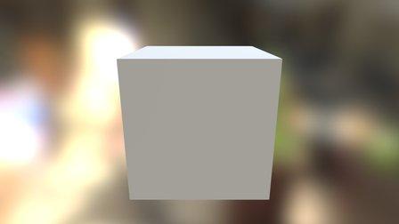 Api Cube Test 3D Model