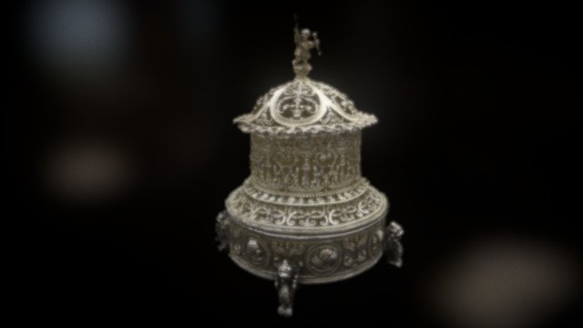 Perfume burner 3D Model