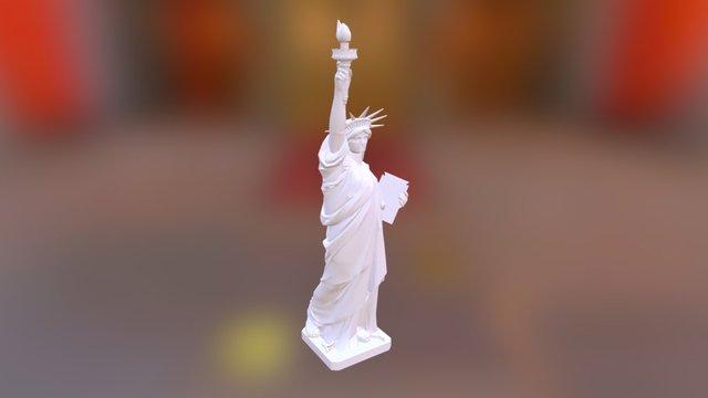 StatueOfLiberty-Statua Wolności-Freiheitsstatue 3D Model