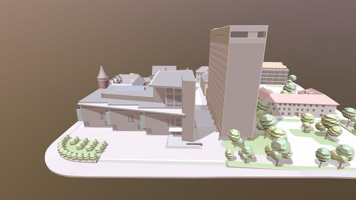 Radhus Test01 3D Model