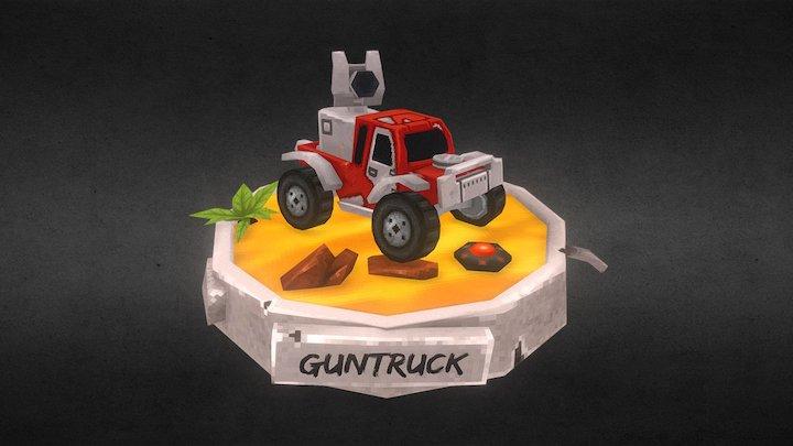 Guntruck 3D Model