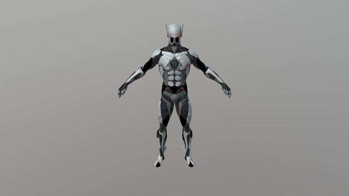 Cyber Ninja Rex 3D Model