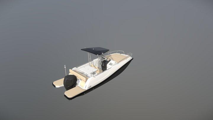 V2 Boats 7 0 Sundeck 3D Model