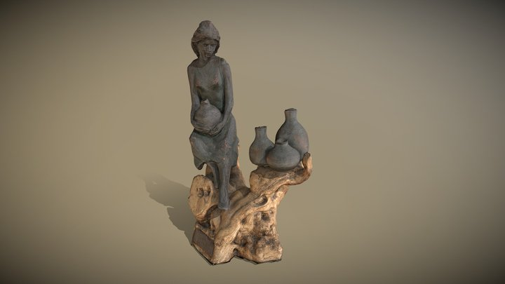 Bronze sculpture 3D Model