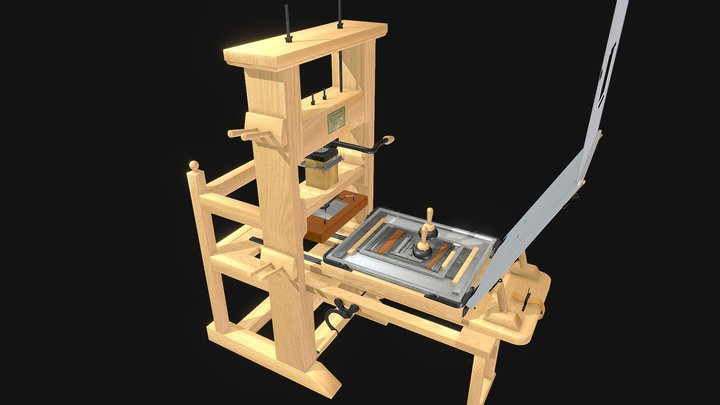 Uncommon Press 3D Model