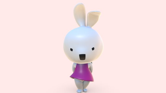 LINA BABY 3D Model