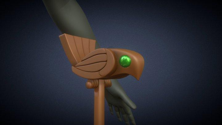 Ancient Magus Bride - Chise's Staff 3D Model