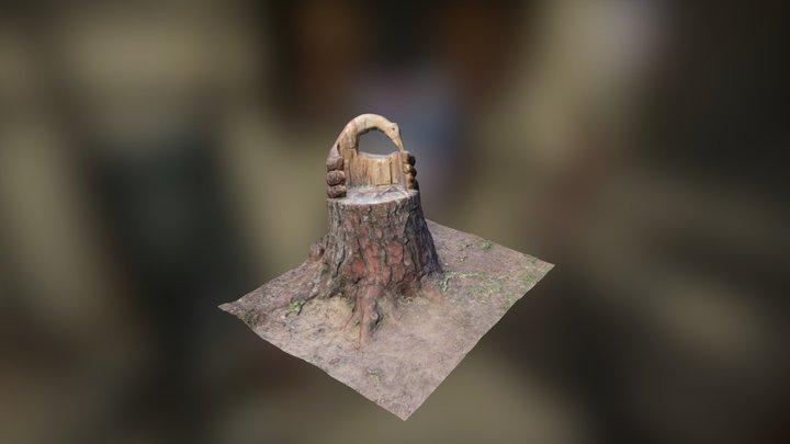 AsientoPato 3D Model