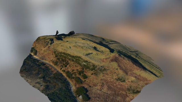 Finavon_hill_fort 3D Model