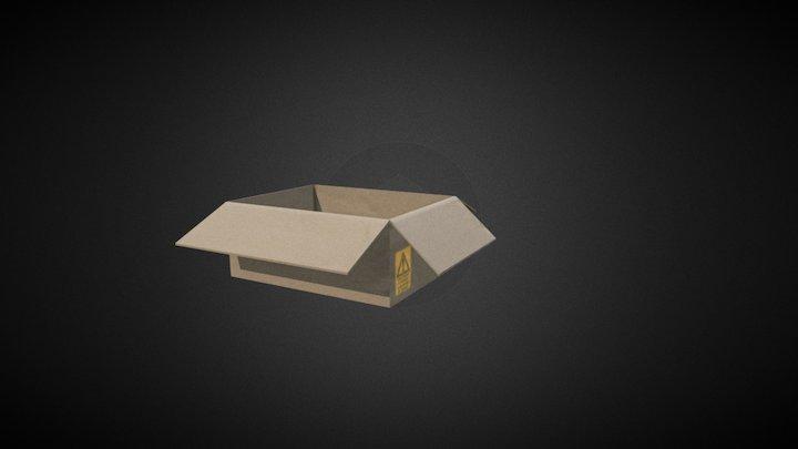 Carton 3D Model