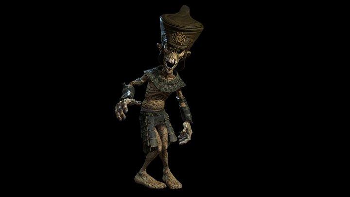 Soldier Mummy-Monster 3D Model