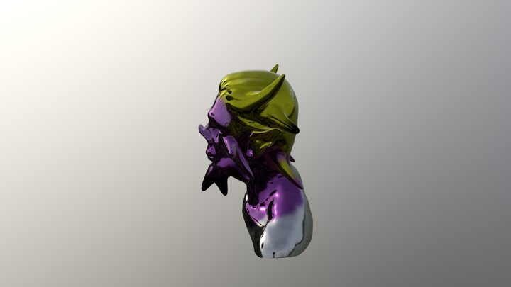 Demo Head test1 3D Model