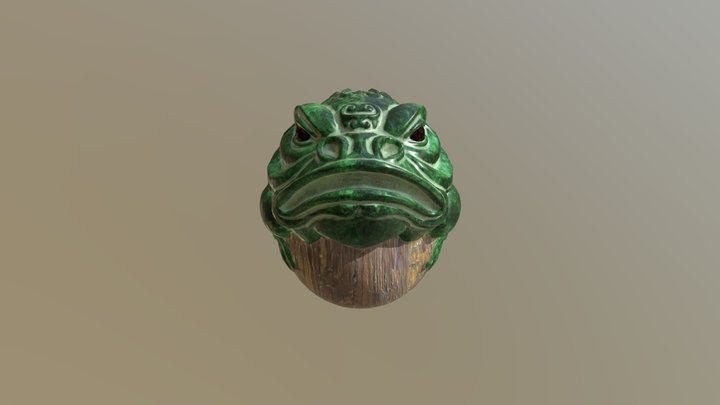 The Frog Himself 3D Model
