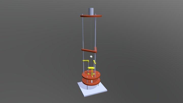juggler1D 3D Model