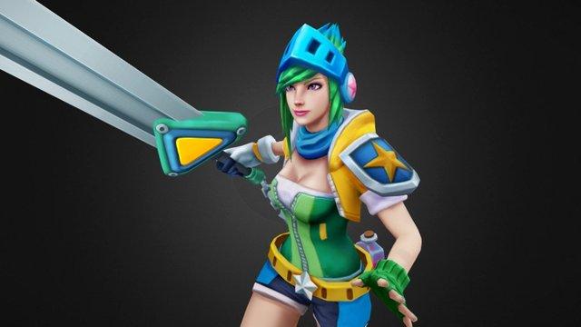 Arcade Riven 3D Model