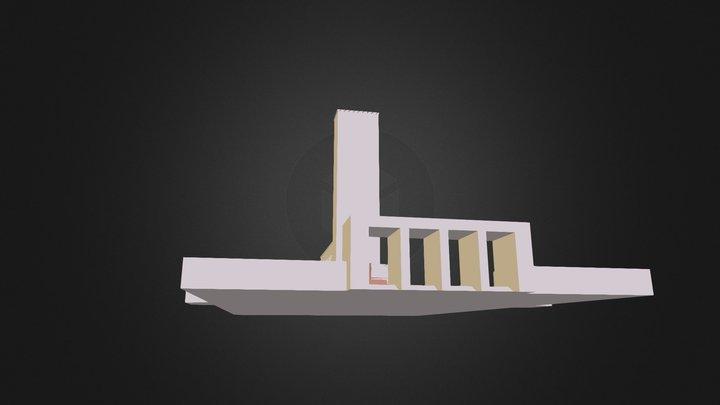 templo salomão 3D Model