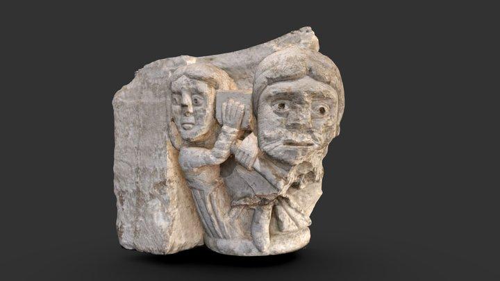 Capitel-SXII-Museo Arqueológico Asturias 3D Model