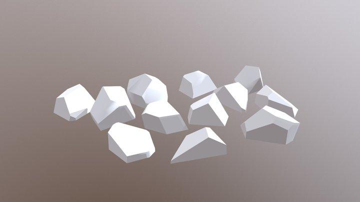 12lampen 3D Model