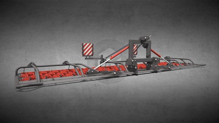 Grünlandegge Perfekt 602S4 . Saphir Maschinenbau 3D Model