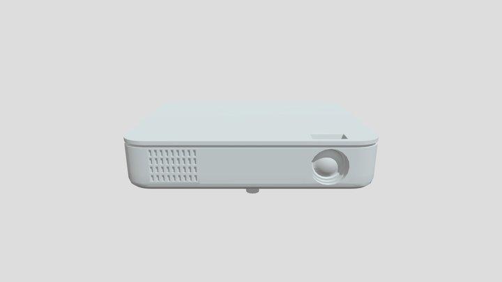 Projector WIP 3D Model