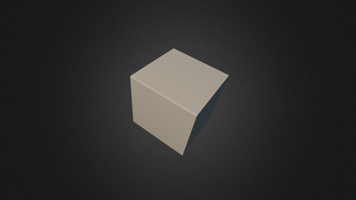 cubo iluminado 3D Model