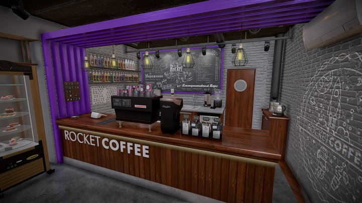 CoffeeOther 3D Model