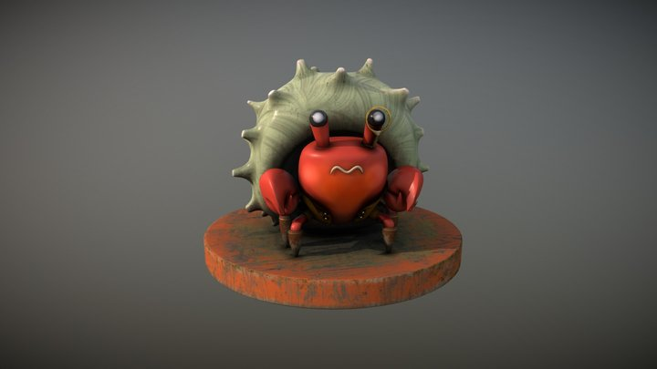 Detective Craboro 3D Model