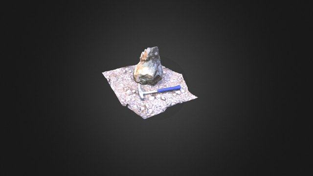 Small Rock block 3D Model