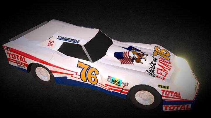 Corvette 1976 3D Model