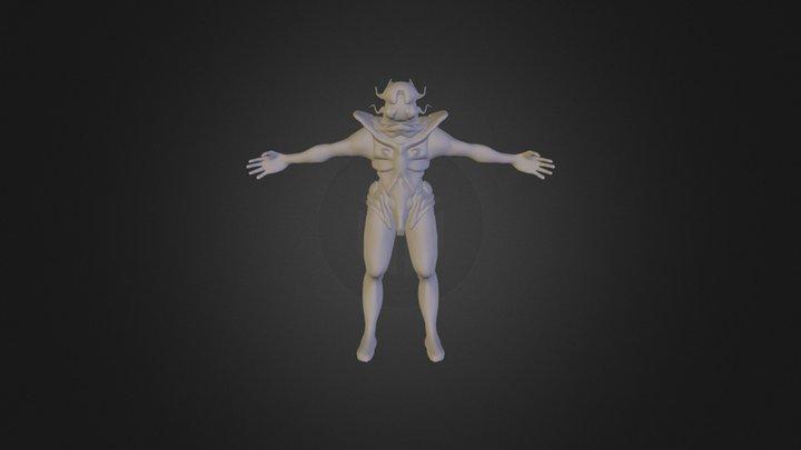 Alien1 Model 3D Model