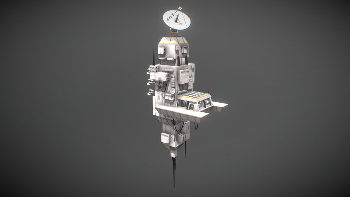 Space Force Border Outpost 3D Model