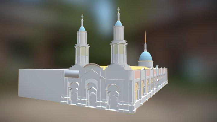 Catedral de Santiago de Chile 3D Model