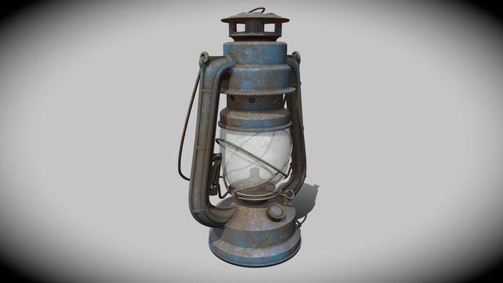 Lantern (Substance Painter Tutorial) 3D Model