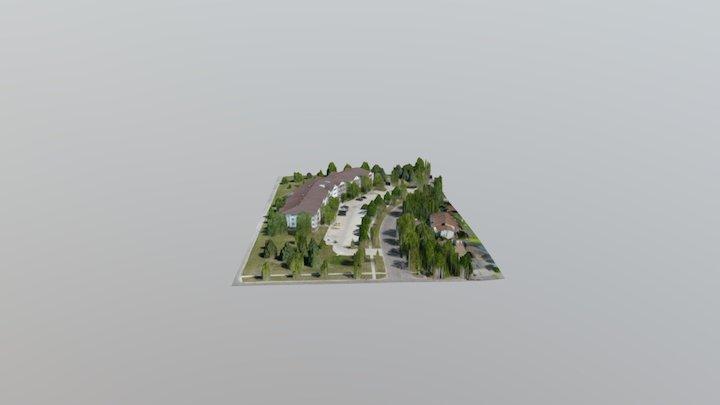 GF Apt 3D Model