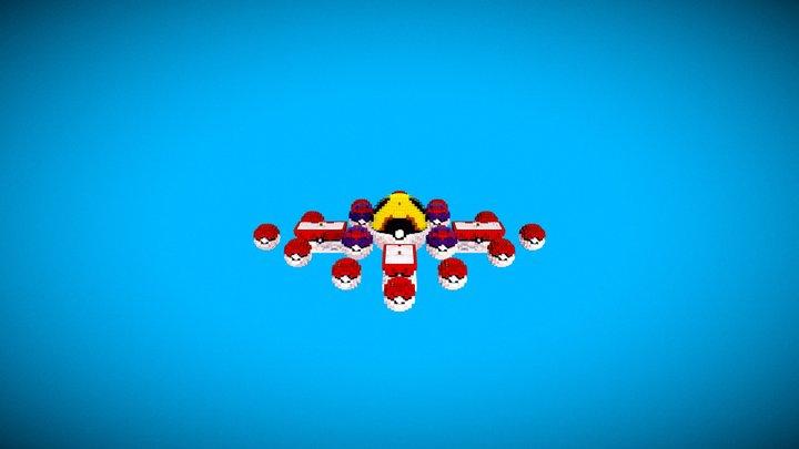 SkyWars PokemonSky v1.0 3D Model