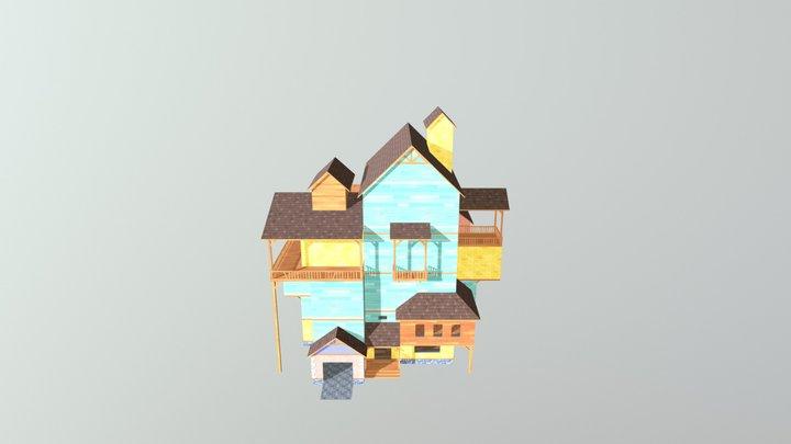 Hello Neighbor - Neighbors House Alpha 1 3D Model
