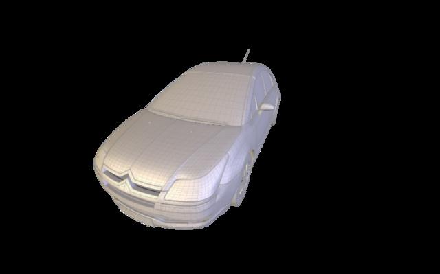 Citroen_C4 3D Model
