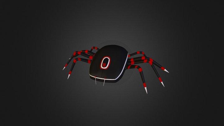 Spider-Robot-Mouse 3D Model