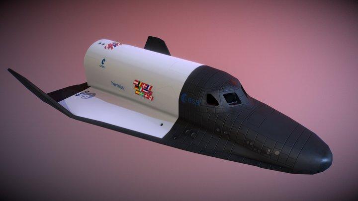Hermes Shuttle 3D Model