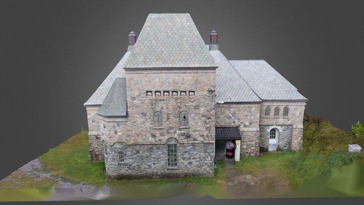 Longerak Kraftstajon - high detail 3D Model