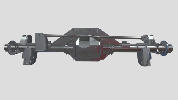 17 154 Master Bracket Assembly Rev-00 3D Model