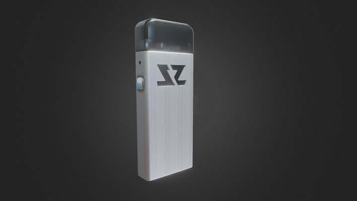 ZeltuX Edition One -  Silver 3D Model