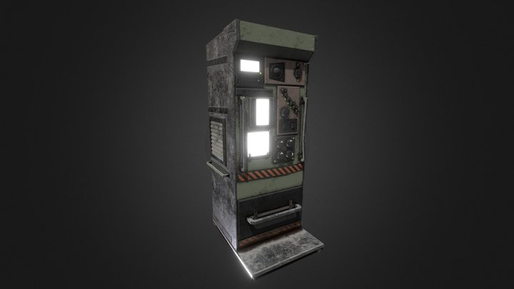 Makeshift Advanced Telecommunications Device 3D Model