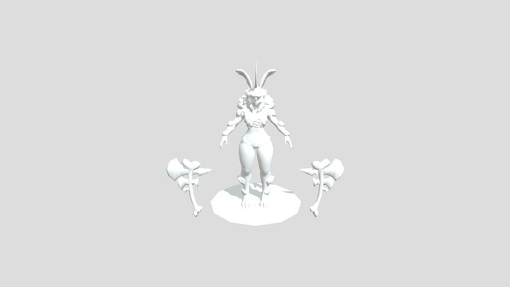 Rona Bunny 3D Model