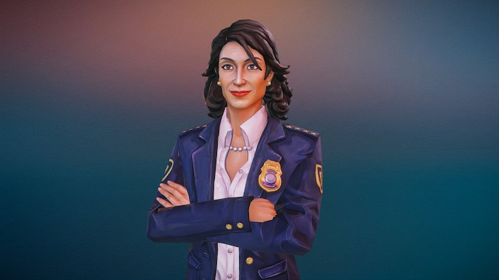Chief of Police 3D Model