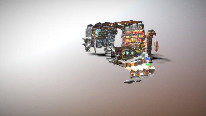 1. Cadde - Mırra Çerezci - Mardin 3D Model