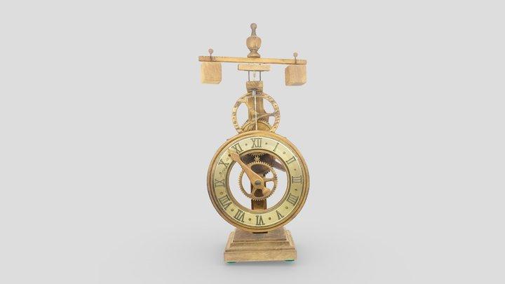 Reloj siglo XV / XVth Century Clock 3D Model